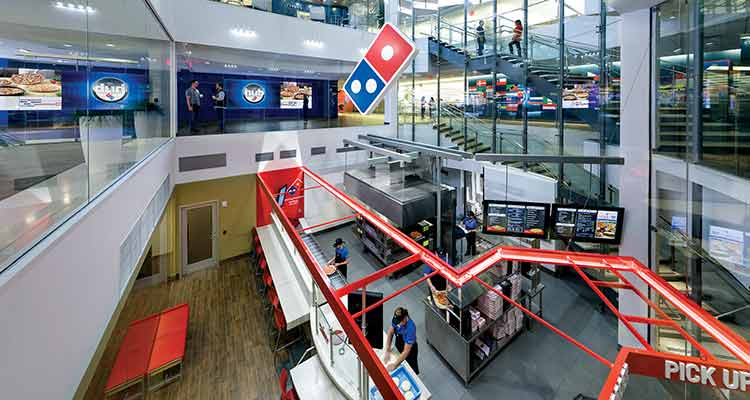 Domino's digital transformation