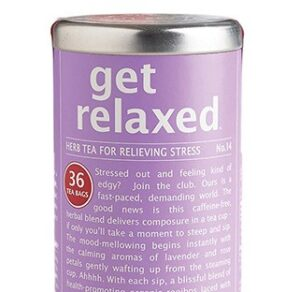 get relaxed herbal tea