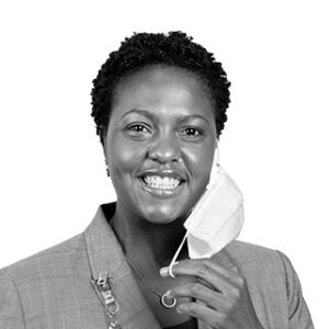 Waqiah Ellis, Chief Nursing Officer for the COVID-19 facility