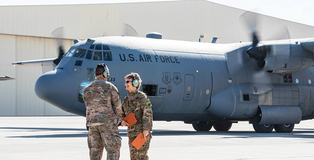 The air force teaches you how to lead in a crisis