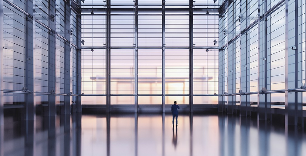 Building New Normal Man In Corporate Space