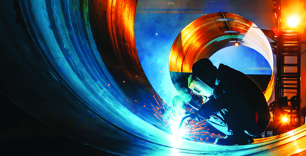 Welding for China's Belt and Road Initiative